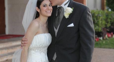 wedding ceremonies kiss
