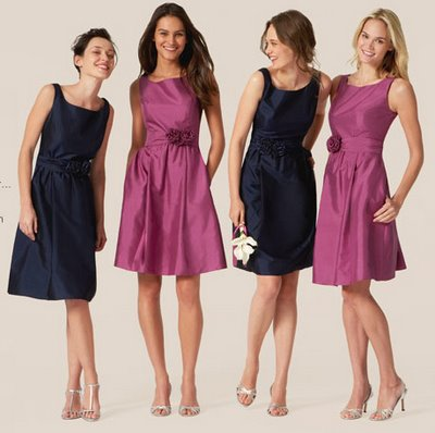 Trendy Bridesmaid Dresses For 2010/2011