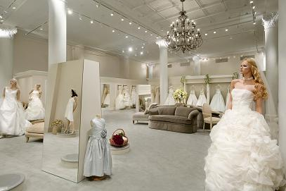 Most popular bridal house houston tx demers banquet hall for Top wedding dress stores