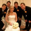 beautiful houston bride and groomsmen at demers gscott imaging 108x108    