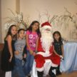 Corporate Holiday party with Santa Claus