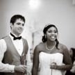 Couple's Wedding Toast  at Demers - Carlea J Photography