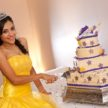 cutting the cake quinceanera celebration at demers 108x108    