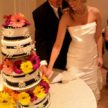 Cutting the Wedding Cake at Demers - GScott Imaging
