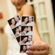 Fun with photo booth at Demers Wedding Reception - Laurie Perez Photography