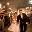 houston wedding exit with sparklers at demers laurie perez photography 108x108    