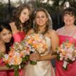 Outdoor wedding in coral - 713Photography