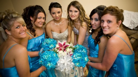 weddings bridal parties at demers in houston