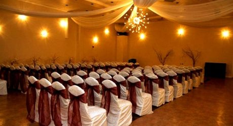 Ballroom Seating Decor for Demers Wedding Ceremonies