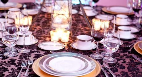 Elegant Table Setting - Melange Catering