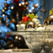 Holiday Parties - Silver Table Decor