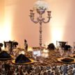 parisian tablescape black white wedding table setup 108x108