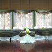 Rustic Color Wedding Backdrop