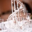 Sparkly Wedding Centerpiece & Table Setting