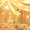 Winter wedding Colors in the Demers Ballroom