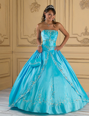Turquoise And Silver Wedding Dresses 80