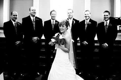 Shannon and Joe Gourley Wedding Party Photo