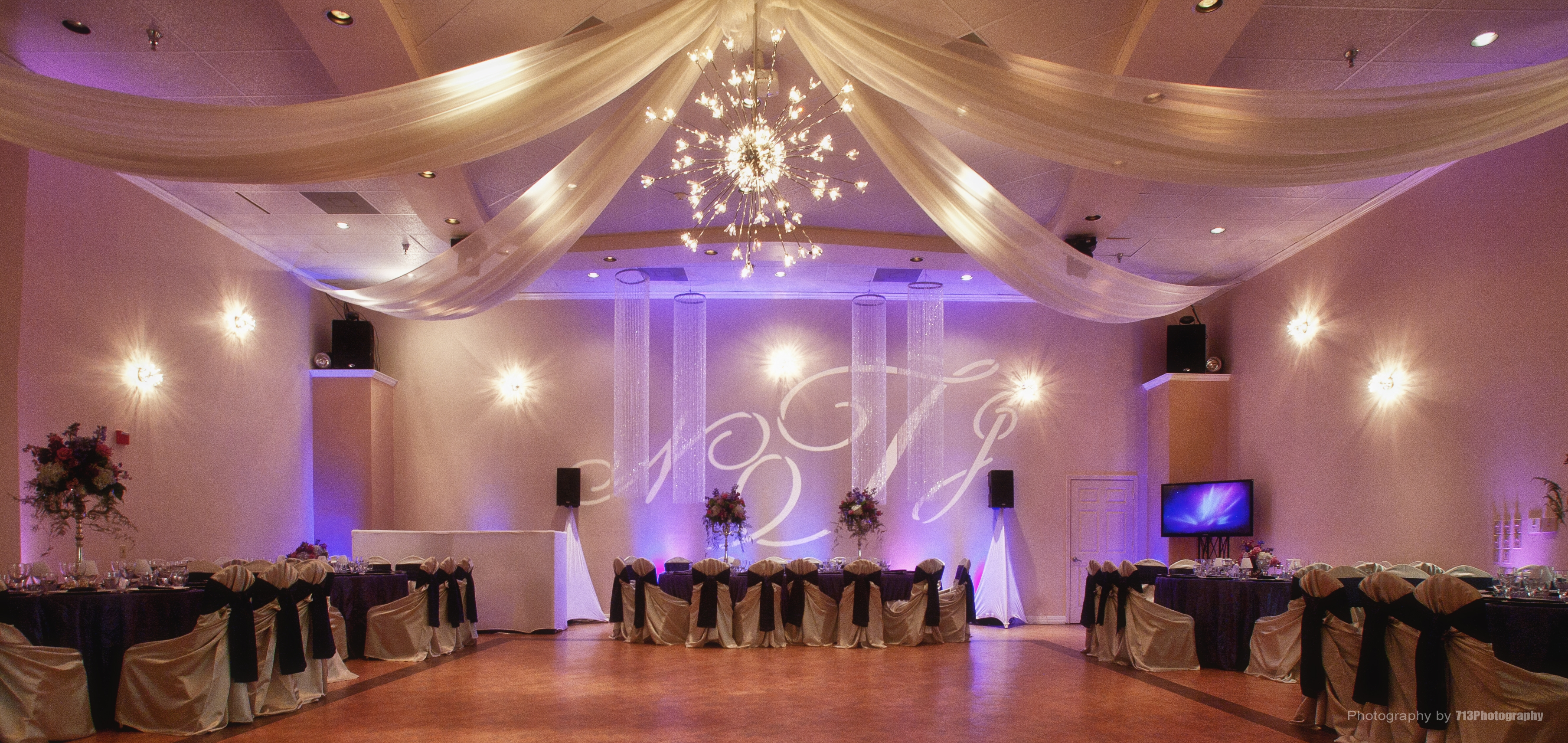 Houston Event Venue Demers Wedding Quince Banquet
