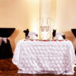 Sweetheart Table Black and White Decor